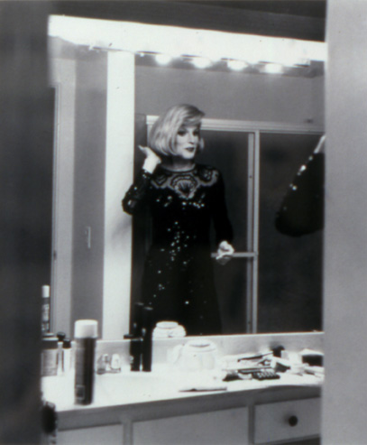 Randy as Joan Rivers, Las Vegas, 1992
